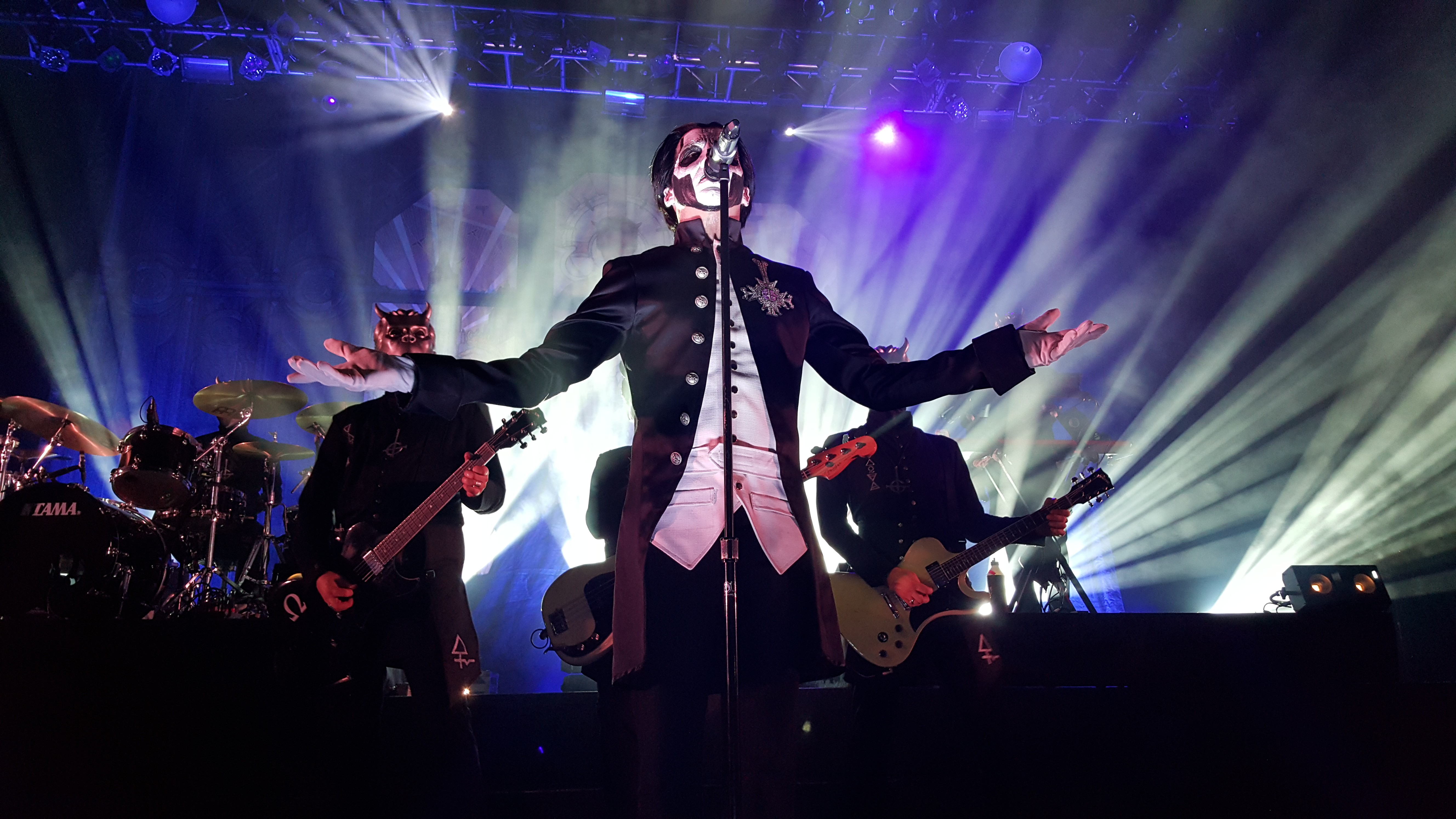 Official Licensed Nameless Ghoul And Papa Emeritus II Masks From ...