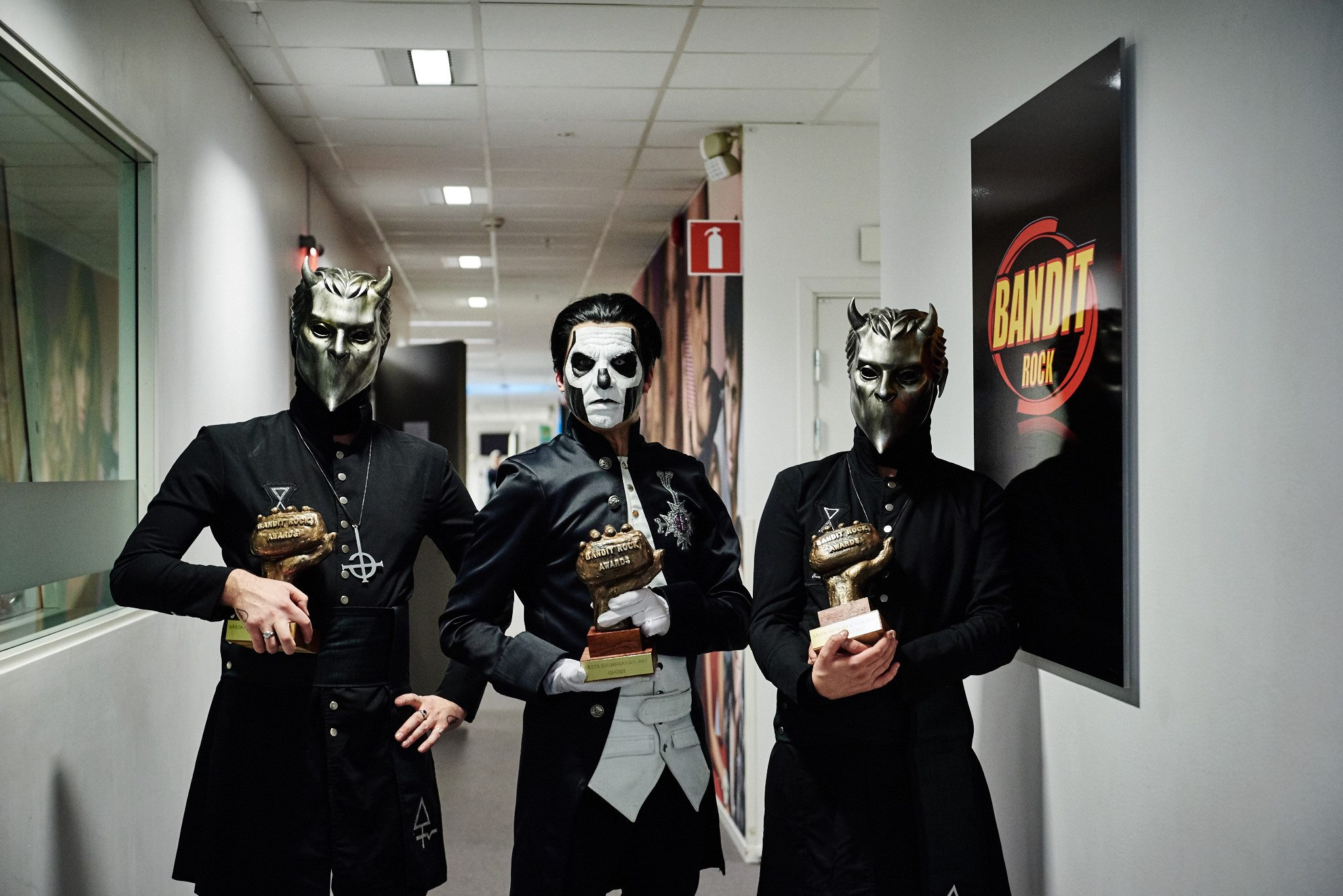 Ghost Wins 3 Bandit Rock Awards