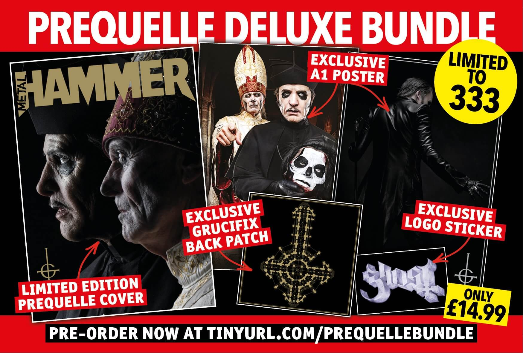 Metal Hammer Teams Up With Ghost To Offer Different Magazine Cover