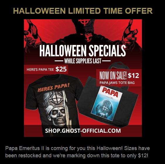 Ghost Halloween Special