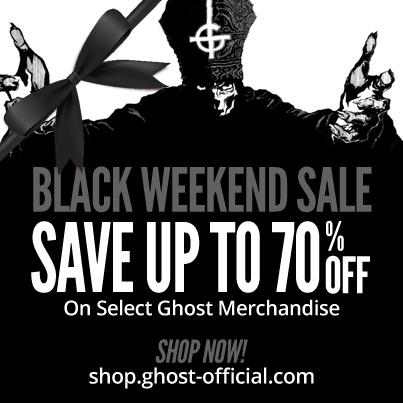 Ghost Black Weekend Sale 2014