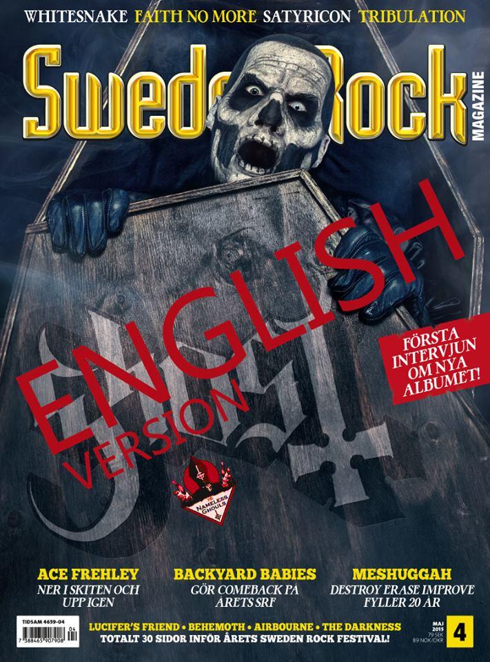 Sweden Rock Magazine English April 2015