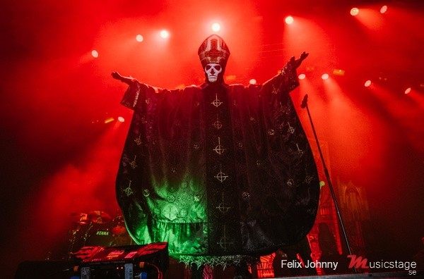 Live Ghost Pics From Felix Johnny – Copenhell Festival