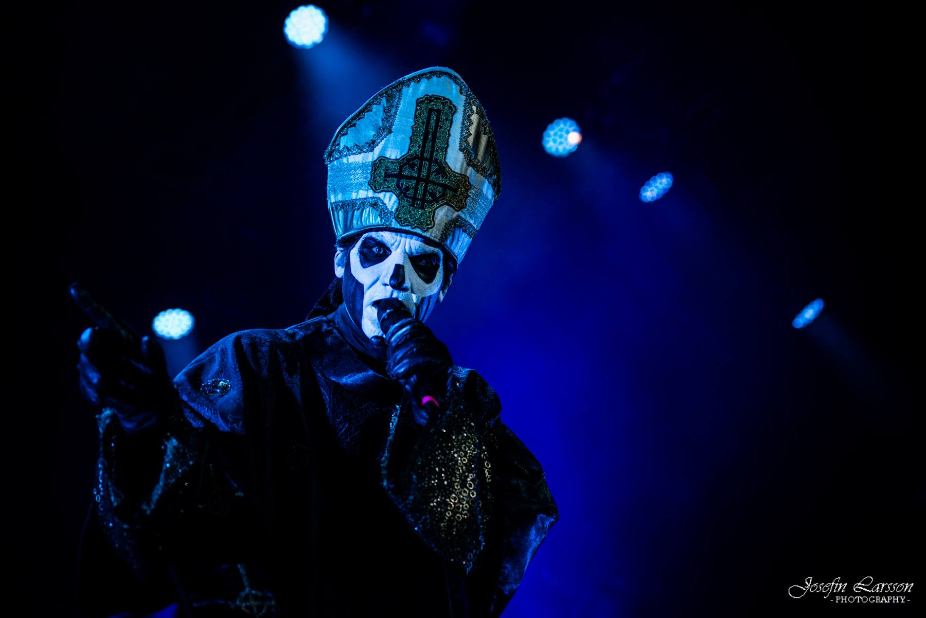 Live Ghost Pics From Josefin Larsson – Copenhell Festival