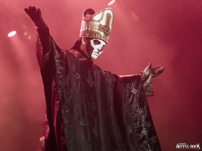 Live Ghost Pics From Madman – Copenhell Festival