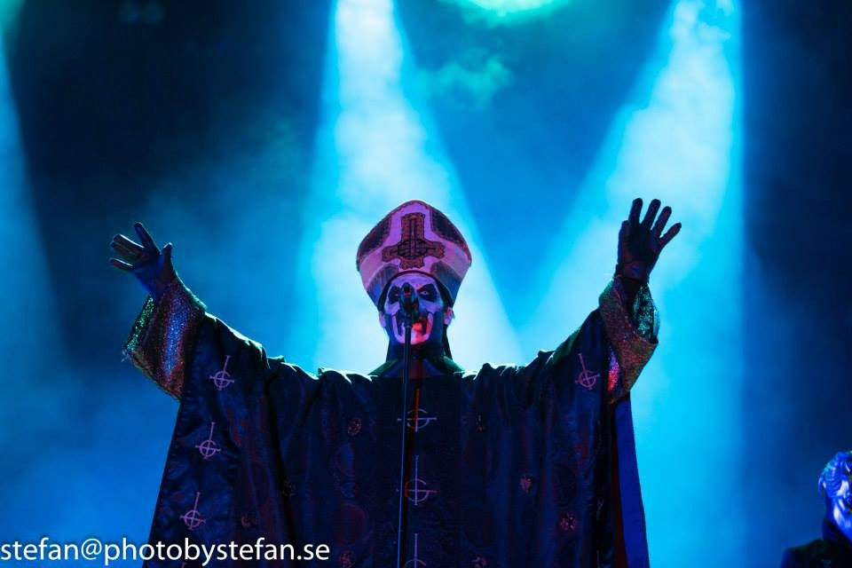 Live Ghost Pics From Stefan Johansson – Sweden Rock Festival