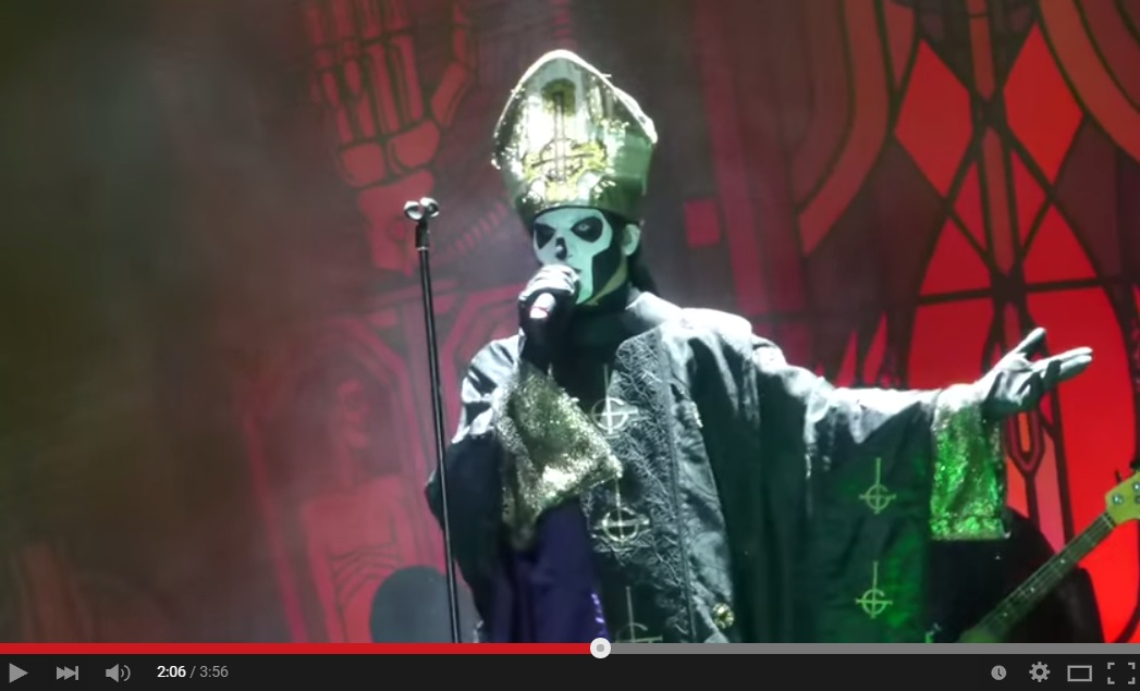 Ghost Live From Copenhell Metal Festival