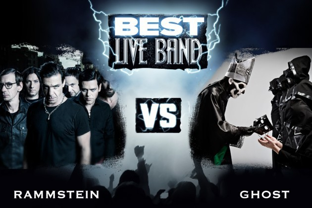 Loudwire.com: Rammstein vs. Ghost – Best Live Band, Round 1