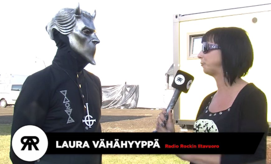 Radiorock.fi Interviews Ghost