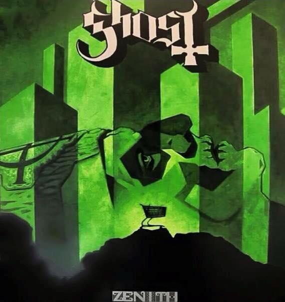Ghost Zenith cover art