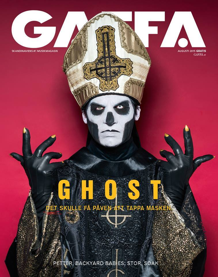 Gaffa Magazine Featuring Ghost