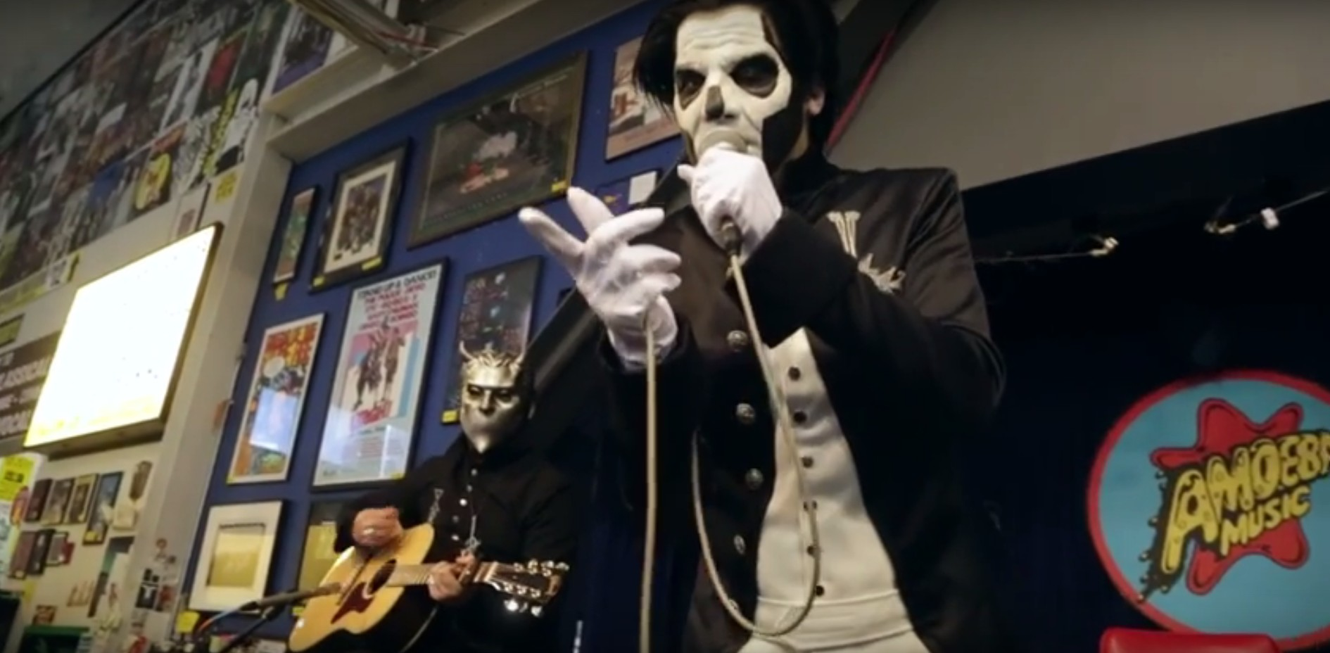 Live Video Of Ghost's Unholy/Unplugged Tour In Los Angeles