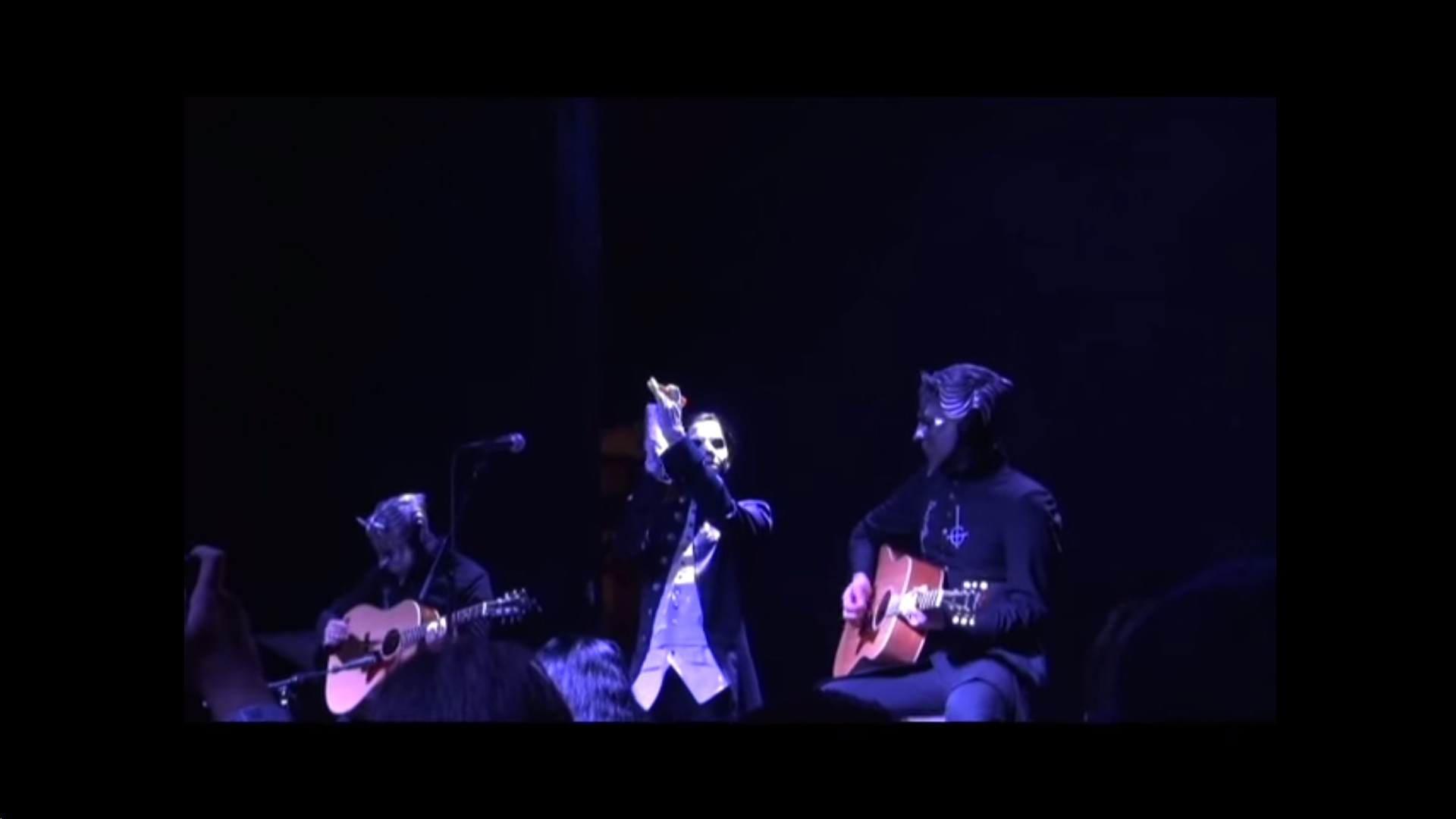 Live Video Of Ghost's Unholy/Unplugged Tour In New York