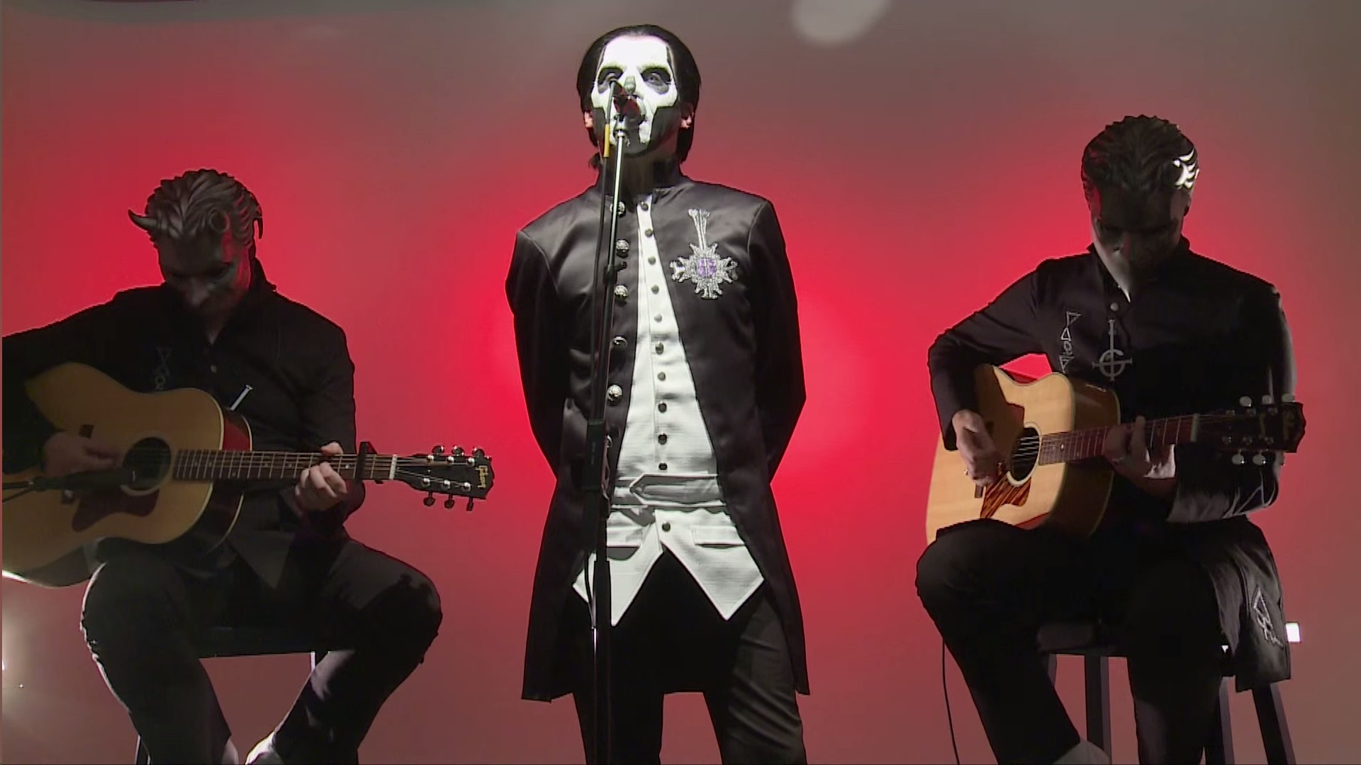 Ghost Performs 'Jigolo Har Megiddo' In HardDrive Studios