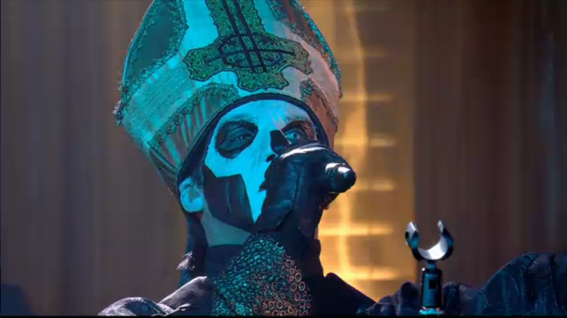 Ghost Performs 'Majesty And 'Year Zero' Live On Canal+