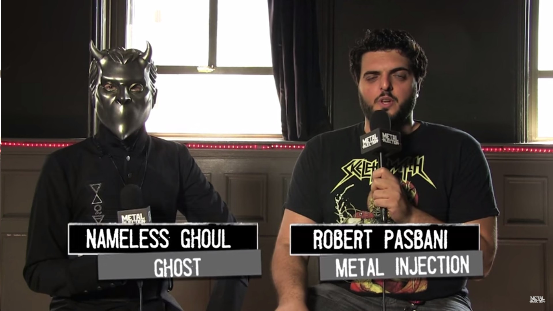 Metal Injection Interviews Ghost