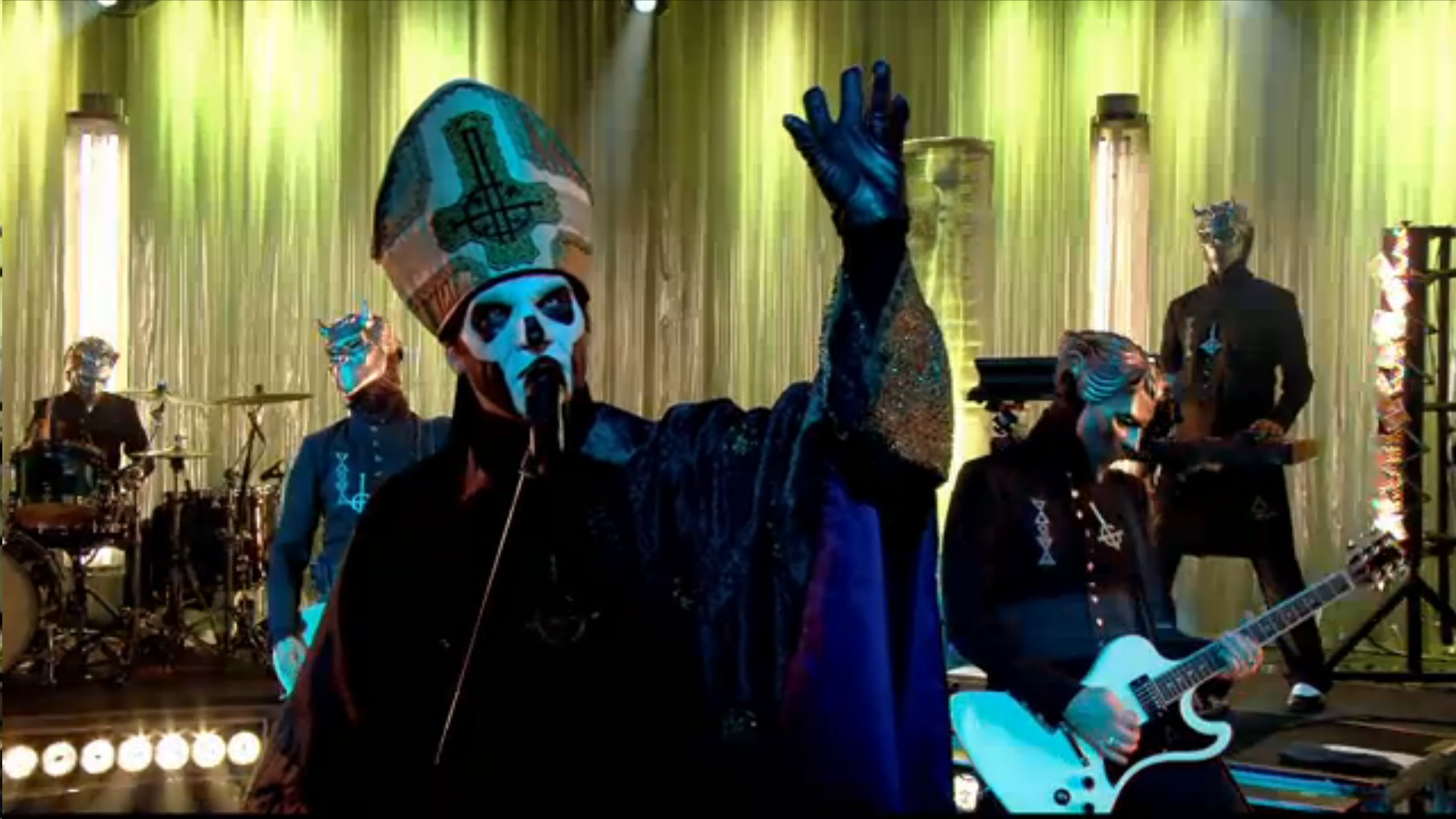 Ghost 'Absolution' Live On Canal+