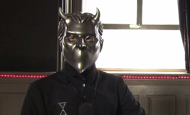 Blabbermouth.net: GHOST's Nameless Ghoul Is Not Upset That SLAYER's KERRY KING Doesn't Like His Band