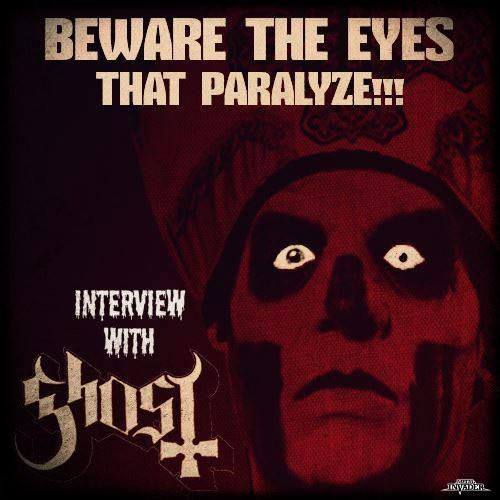 Metal Invader Interview Ghost