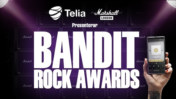 Vote For Ghost On Bandit Rock Awards