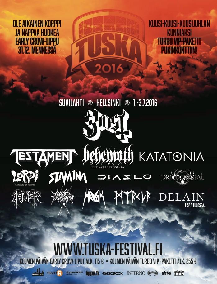 tuska festival 2016