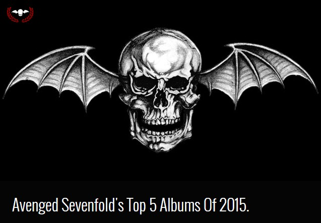 Avenged Sevenfold Band Members Picked 'Meliora' for their top 5 albums of 2015