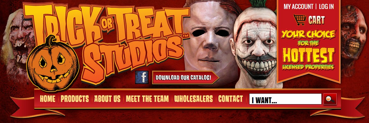 Official Licensed Nameless Ghoul And Papa Emeritus II Masks From Trick or Treat Studios