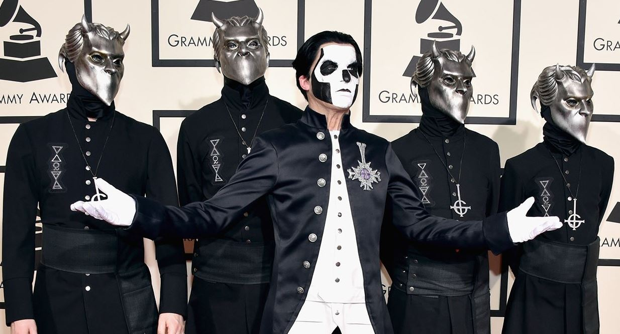 GHOST: WE'RE NOT OUT TO SHOCK PEOPLE