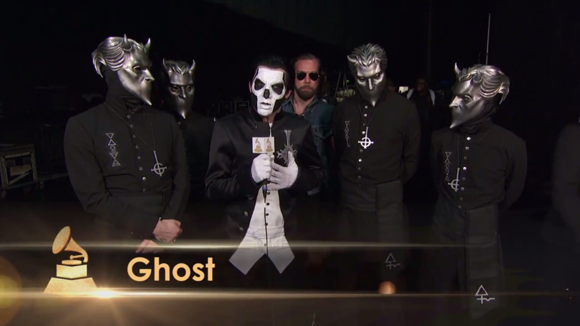 Ghost Gives Thanks For Winning Grammy