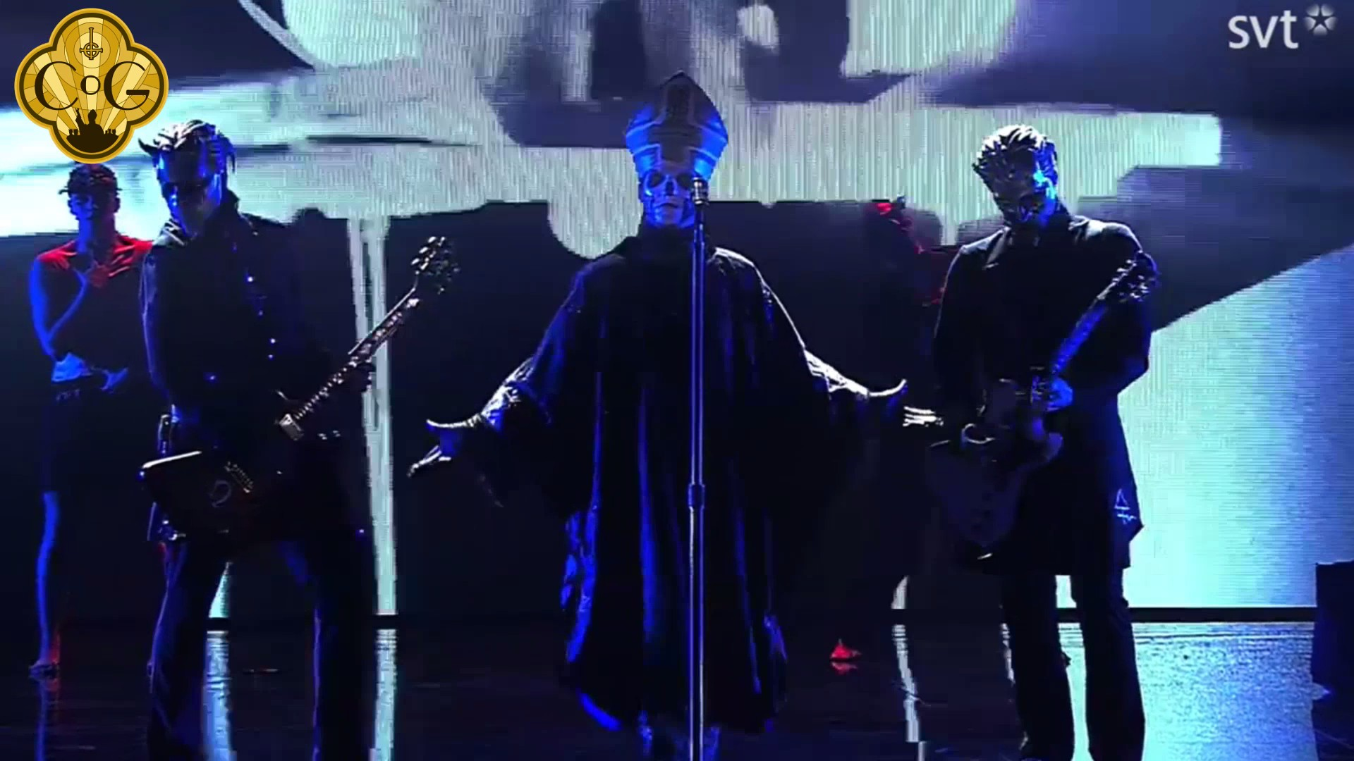 Ghost Performing 'He Is' At The Grammis