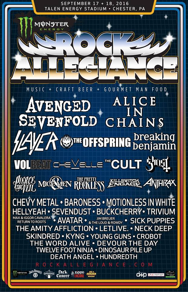 Ghost Scheduled To Perform At Rock Allegiance Music Festival