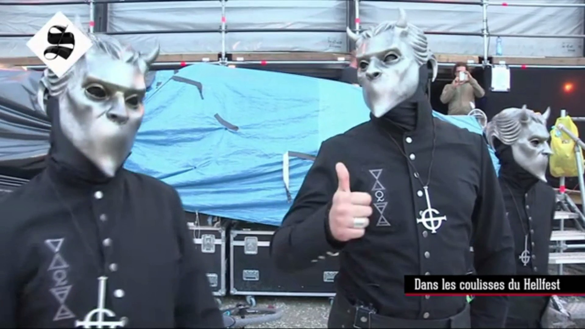 Behind The Scenes At Hellfest