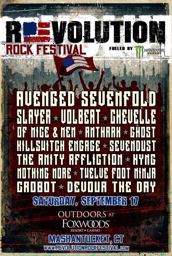 Ghost Revolution Rock Fest