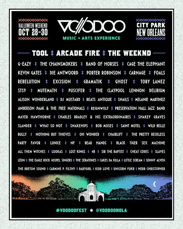 Ghost Voodoo Fest 2016