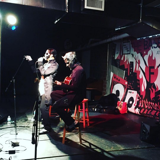 Ghost Performs Acoustic Set In Iowa