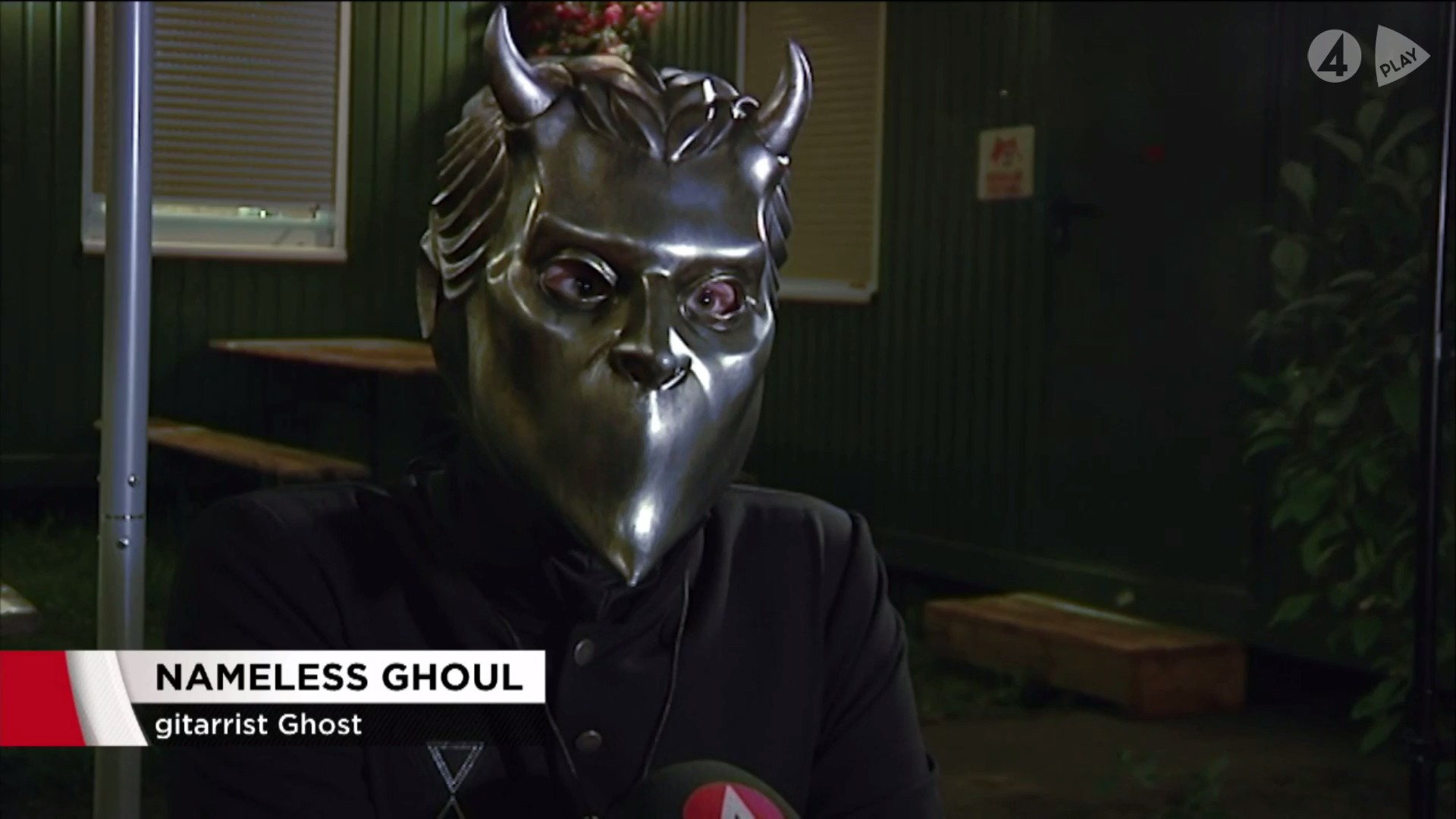 Swedish TV channel 'TV4' Interview Ghost