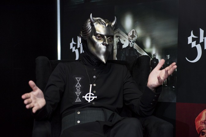 Vinilopop.com Interviews Ghost