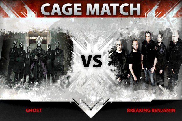 Ghost vs. Breaking Benjamin in Loudwire's latest Cage Match
