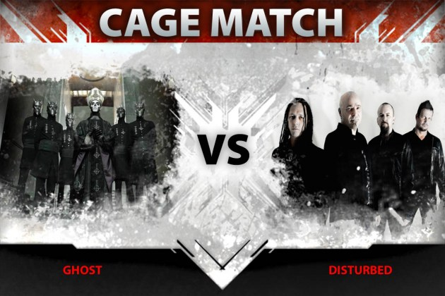 Ghost vs. Disturbed in Loudwire's latest Cage Match