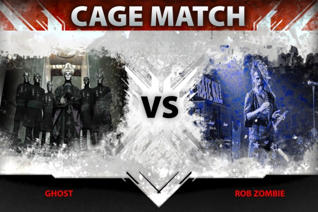 Ghost vs. Rob Zombie in Loudwire's latest Cage Match