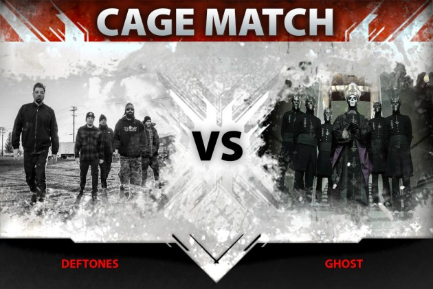 Deftones vs. Ghost in Loudwire's latest Cage Match