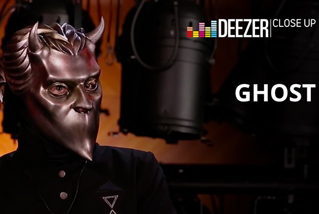 Deezer: Close Up With Ghost