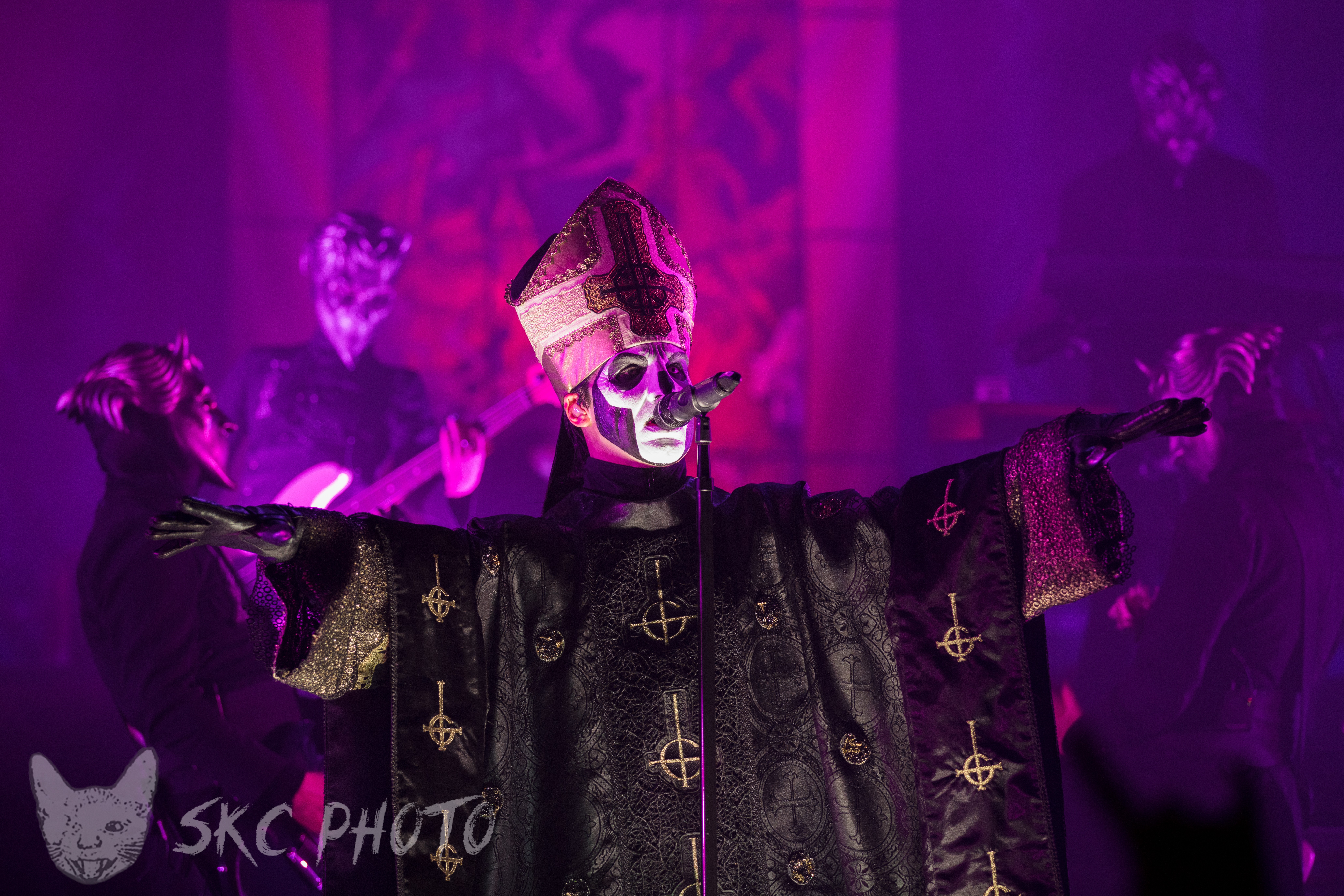 Our Live Pictures Of Ghost/Deafheaven From The Wiltern In Los Angeles