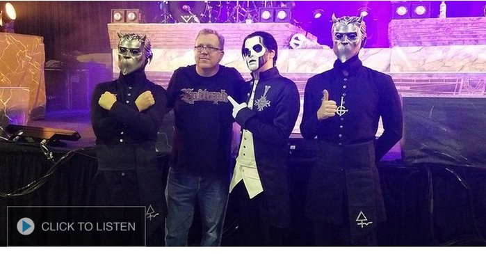 100.3 The Edge Interviews Ghost