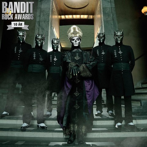 Ghost Nominated For Three Bandit Rock Awards
