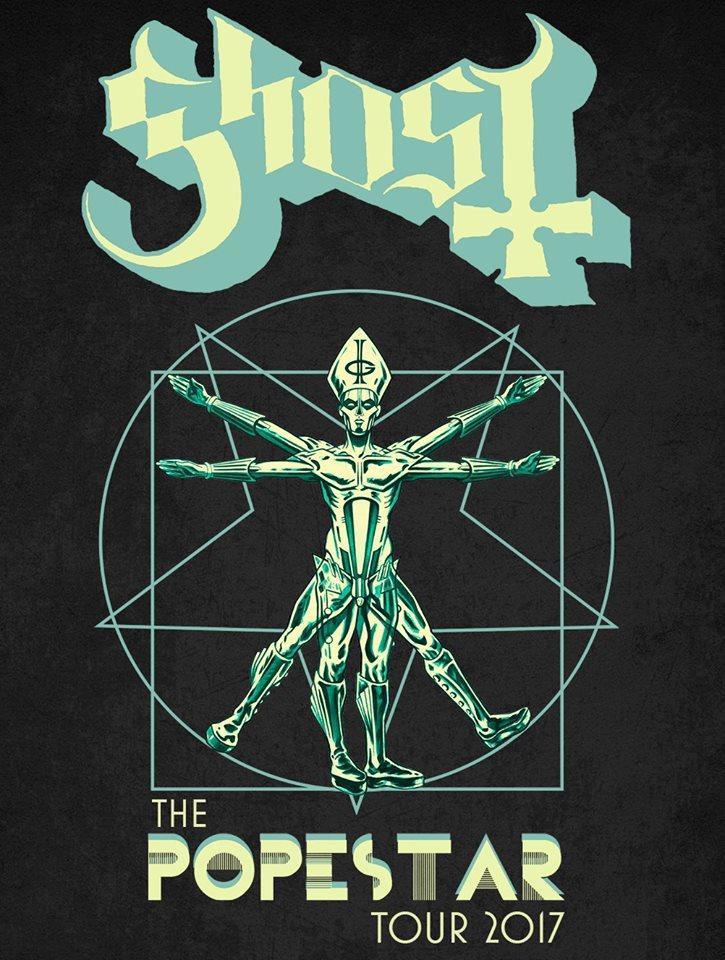 Ghost Announce European Popestar Tour