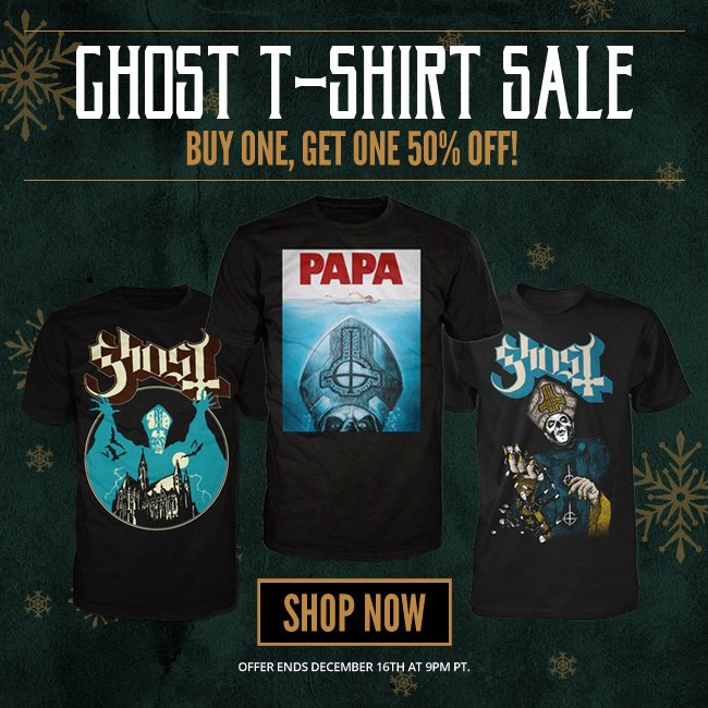 Ghost T-Shirt Sale