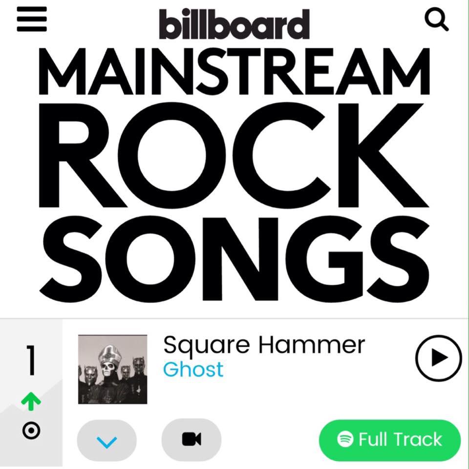Square Hammer Tops Billboard Chart