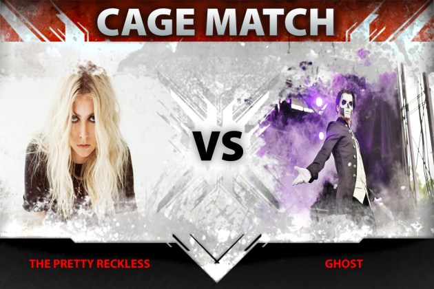 Ghost vs. The Pretty Reckless In Loudwire's Latest Cage Match