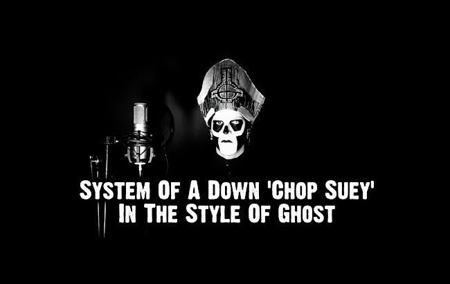 "System of a Down's ""Chop Suey!"" in the style of Ghost by Ten Second Songs"